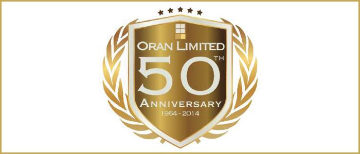 Oran Limited 50th Anniversary 1964 - 2014